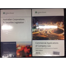 Commercial Applications of Company Law 2015+ Corporations & Securities Legislation 2015 *Hot Sale!*